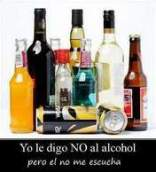 yo le digo no al alcohol
